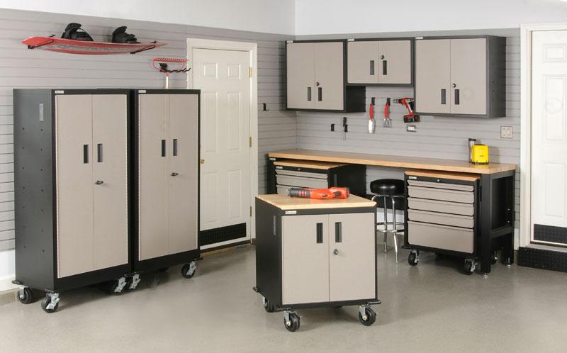 Mojave Garage Cabinets